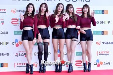 EXID at Cable TV Broadcast Awards Red Carpet