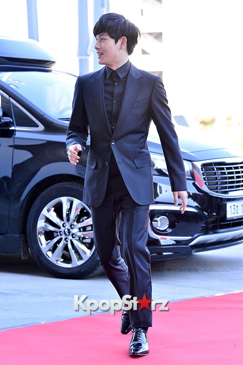 ZE:A's Im Siwan at Cable TV Broadcast Awards Red Carpetkey=>4 count14