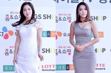 Choi Hee and Hong Jin Young at Cable TV Broadcast Awards Red Carpet