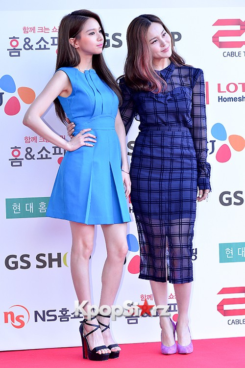 Fiestar's Jei and Ivy at Cable TV Broadcast Awards Red Carpetkey=>3 count18