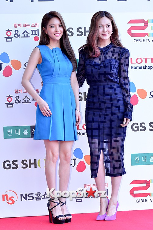 Fiestar's Jei and Ivy at Cable TV Broadcast Awards Red Carpetkey=>4 count18