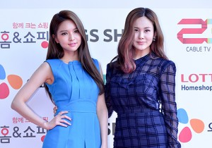 Fiestar's Jei and Ivy at Cable TV Broadcast Awards Red Carpet