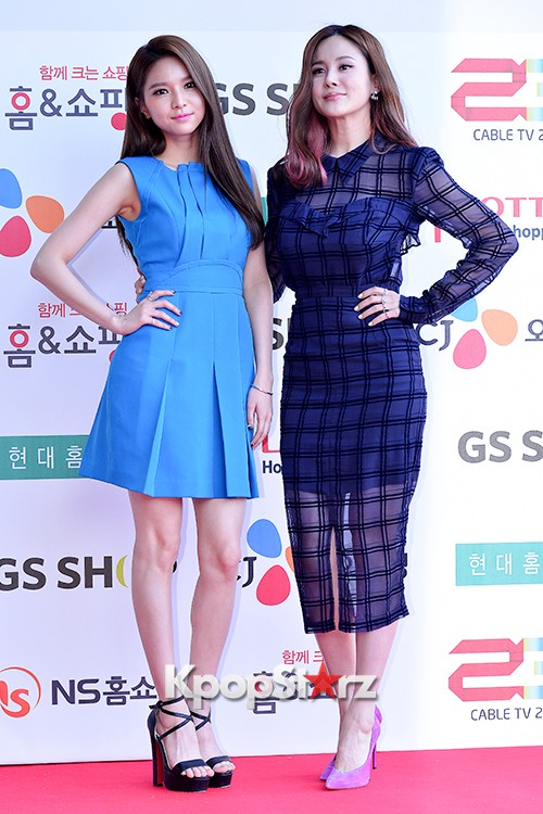 Fiestar's Jei and Ivy at Cable TV Broadcast Awards Red Carpetkey=>1 count18