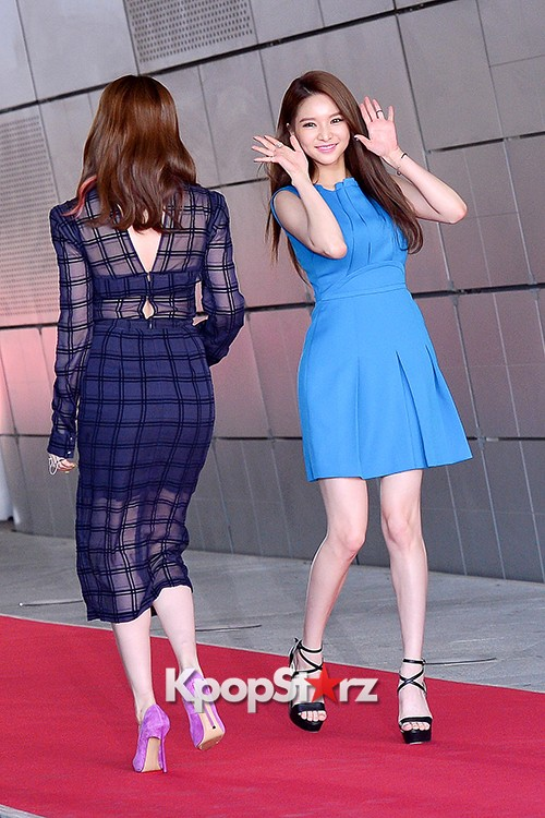 Fiestar's Jei and Ivy at Cable TV Broadcast Awards Red Carpetkey=>17 count18