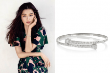 Jun Ji Hyun Gucci Jewelry For Elle April 2015 Magazine Pictures