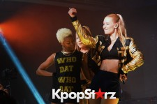 Iggy Azalea was the headliner for Samsung's mega wat music showcase at SXSW.