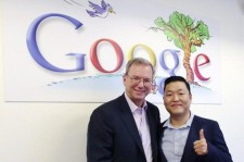 Psy Reveals Photo Taken with Google CEO Eric Schmidt
