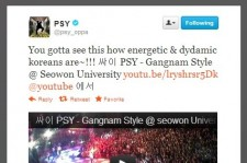 Psy Tweets How Korea Does