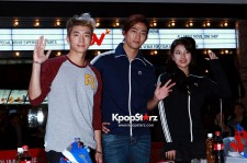Wooyoung-Taecyeon-Suzy Lovely Greeting at Reebok Fan Signing Event