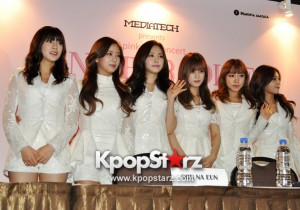 Apink Meets Singapore Media, Happy And Excited For Their First Apink Pink Paradise in Singapore [PHOTOS]