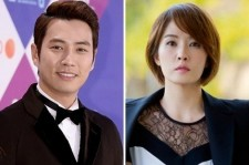 Joo Sang Wook and Kim Sun Ah