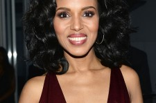 Kerry Washington attends the 26th Annual GLAAD Media Awards at the Beverly Hilton on March 21, 2015 in Los Angeles.