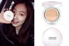 Park Shin Hye's $32 Mamonde Cover Powder Cushion Weibo