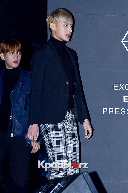 EXO at EXO's Second Album 'EXODUS' Comeback Press Conferencekey=>3 count42
