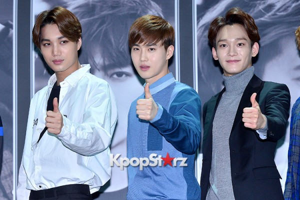 EXO at EXO's Second Album 'EXODUS' Comeback Press Conferencekey=>28 count42
