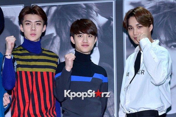 EXO at EXO's Second Album 'EXODUS' Comeback Press Conferencekey=>30 count42
