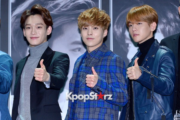 EXO at EXO's Second Album 'EXODUS' Comeback Press Conferencekey=>32 count42