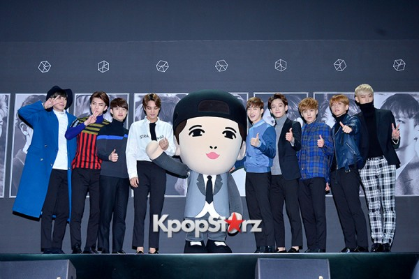 EXO at EXO's Second Album 'EXODUS' Comeback Press Conferencekey=>37 count42