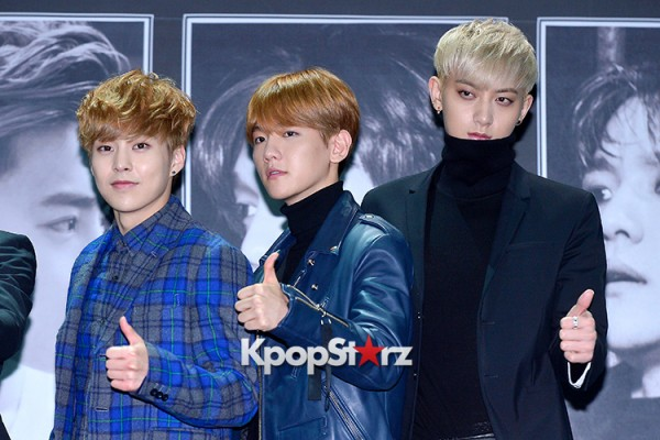 EXO at EXO's Second Album 'EXODUS' Comeback Press Conferencekey=>39 count42