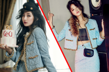 Miss A Suzy Ceci October 2014 Choi Ara Cosmopolitan Magazine November Issue Pictures Moschino