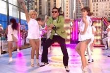 Psy dancing in Ellen
