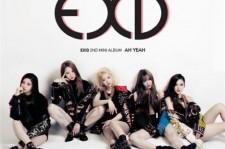 EXID Leaked Album Cover AH YEAH