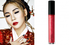 2NE1 CL Lee Chaerin W Korea Magazine March 2015 Picture MAC Cosmetics Lipglass