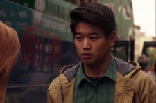 Ki Hong Lee during a pivotal scene in 'Unbreakable Kimmy Schmidt.'