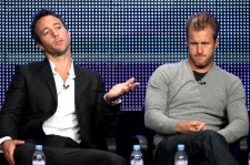 Hawaii Five-0 season 5 cast members Alex O'Loughlin and Scott Caan