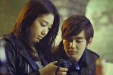 Park Shin Hye and Yoo Seung Ho