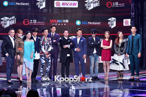 Celebrities at a Press Conference of SBS Plus 'Fashion King'- Secret's Boxkey=>18 count53