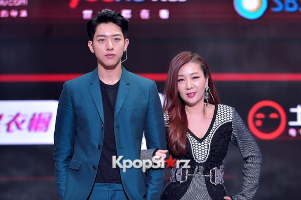 Celebrities at a Press Conference of SBS Plus 'Fashion King'- Secret's Boxkey=>38 count53