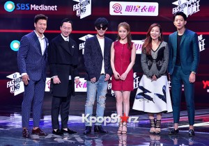 Celebrities at a Press Conference of SBS Plus 'Fashion King'- Secret's Box