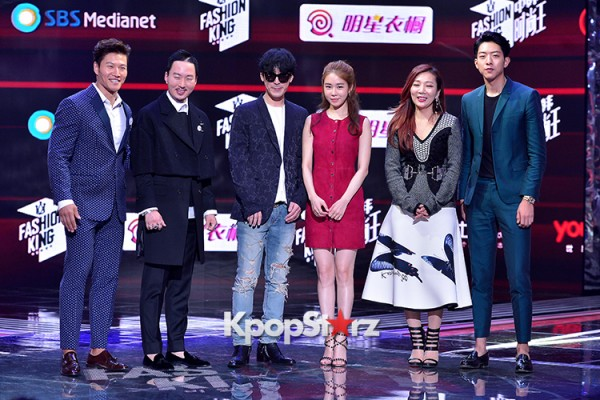 Celebrities at a Press Conference of SBS Plus 'Fashion King'- Secret's Boxkey=>0 count53