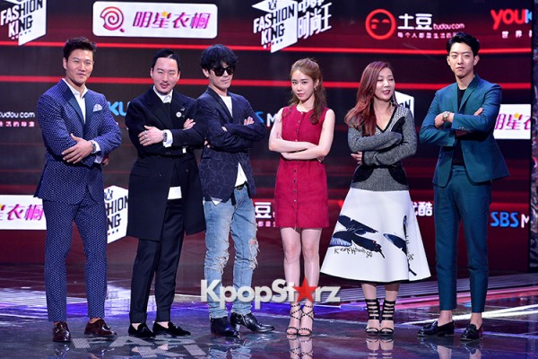 Celebrities at a Press Conference of SBS Plus 'Fashion King'- Secret's Boxkey=>47 count53