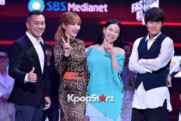 Celebrities at a Press Conference of SBS Plus 'Fashion King'- Secret's Boxkey=>52 count53