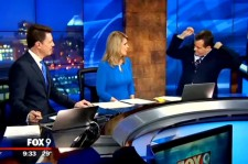 Weather Reporter Finds Hanger In His Suit On The Air