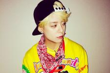 f(x) Amber Instagram Moschino Yellow Extra Fine Merino Wool Jacquard Sweater