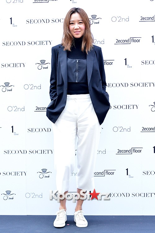Gong Hyo Jin and Hwang Jung Eum at Second Society Launching Eventkey=>3 count22