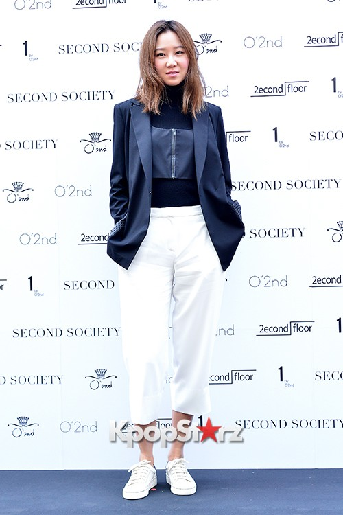 Gong Hyo Jin and Hwang Jung Eum at Second Society Launching Eventkey=>8 count22