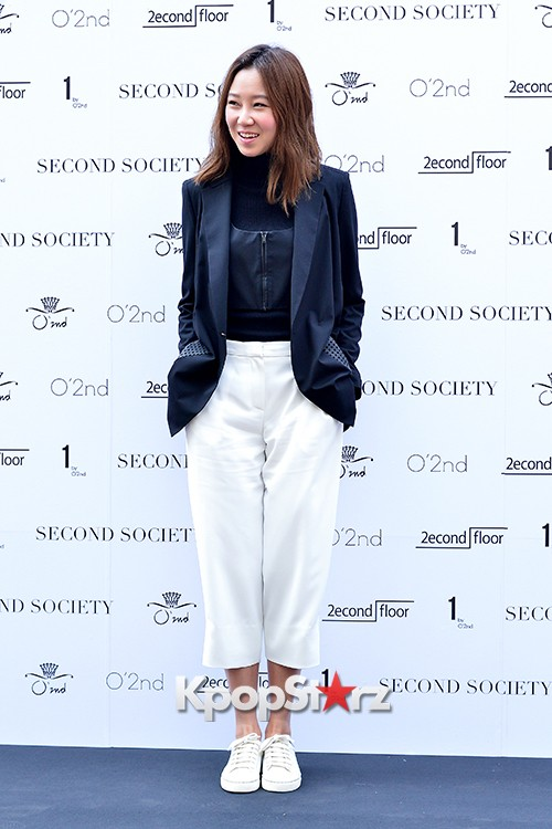 Gong Hyo Jin and Hwang Jung Eum at Second Society Launching Eventkey=>14 count22