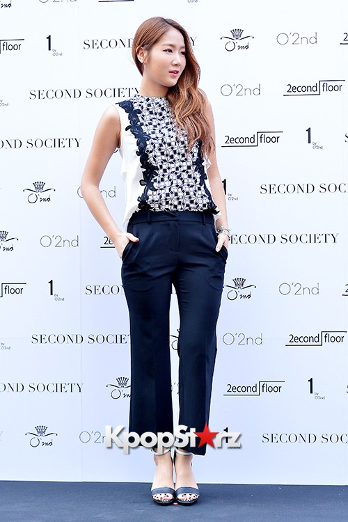 Sistar's Soyou at Second Society Launching Eventkey=>9 count13