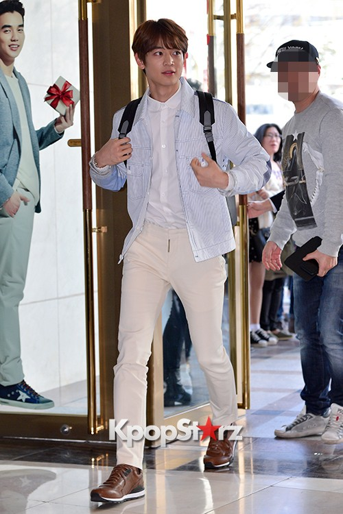 SHINee's Minho at the Opening Ceremony of COACH Flagship Store in Seoulkey=>1 count16