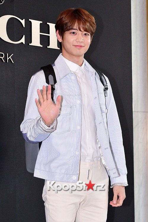 SHINee's Minho at the Opening Ceremony of COACH Flagship Store in Seoulkey=>4 count16