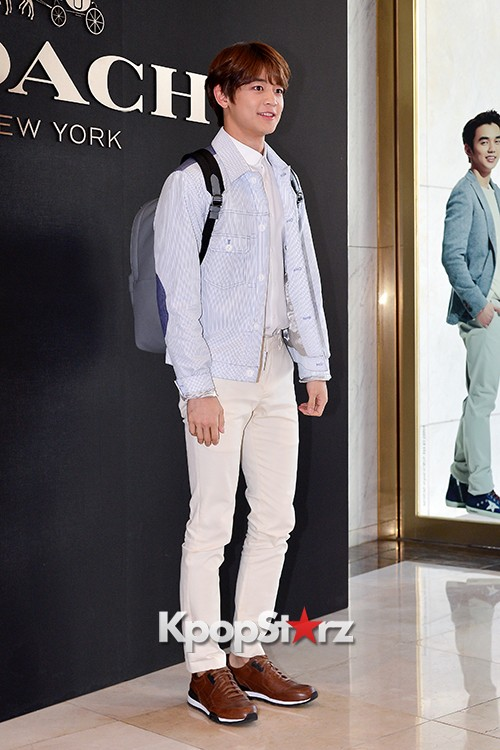 SHINee's Minho at the Opening Ceremony of COACH Flagship Store in Seoulkey=>5 count16