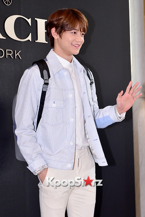 SHINee's Minho at the Opening Ceremony of COACH Flagship Store in Seoulkey=>10 count16