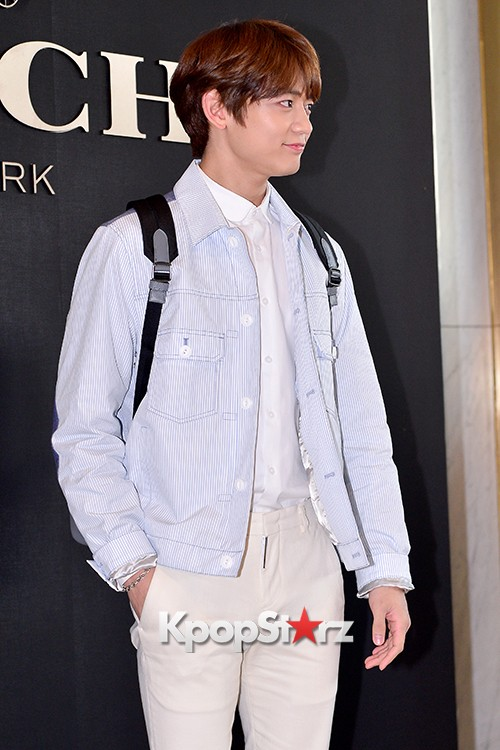 SHINee's Minho at the Opening Ceremony of COACH Flagship Store in Seoulkey=>11 count16