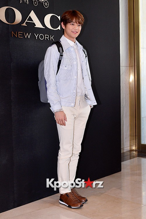SHINee's Minho at the Opening Ceremony of COACH Flagship Store in Seoulkey=>13 count16