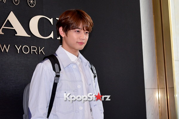 SHINee's Minho at the Opening Ceremony of COACH Flagship Store in Seoulkey=>14 count16