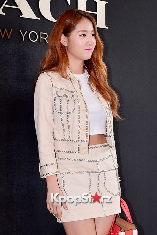 Sistar's Soyou at the Opening Ceremony of COACH Flagship Store in Seoulkey=>4 count14
